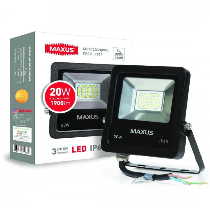 Прожектор Maxus LED FLOOD LIGHT 20W 5000K