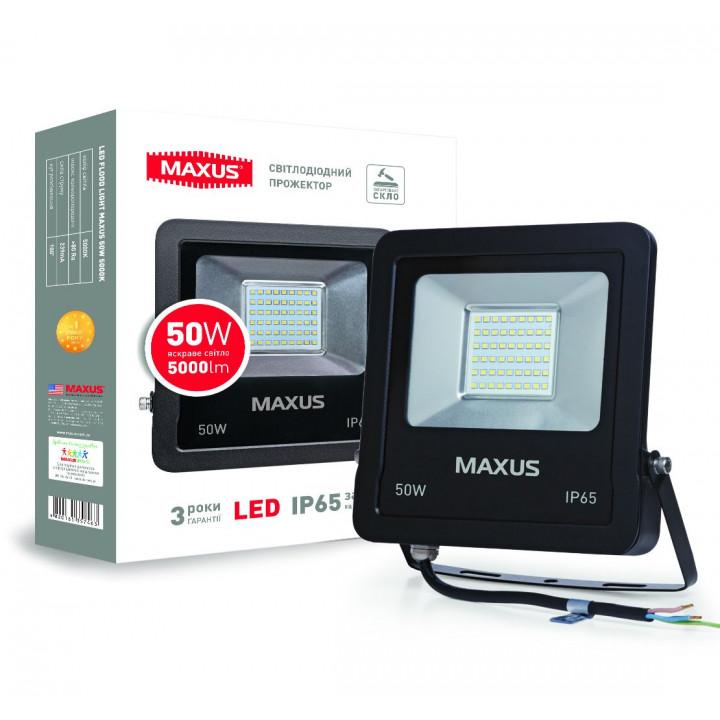 Прожектор Maxus LED FLOOD LIGHT 50W 5000K