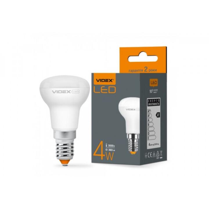 Лампа світлодіодна Videx R39e 4W E14 3000K 220V, 292618