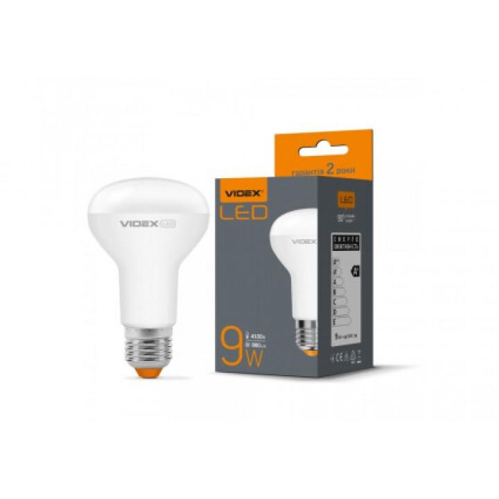 Лампа світлодіодна Videx R63e 9W E27 4100K 220V, (294148)