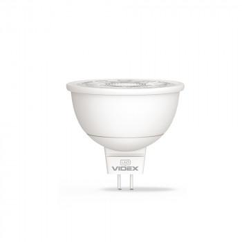 Лампа світлодіодна Videx MR16 GU5.3  5W 4100K 220V