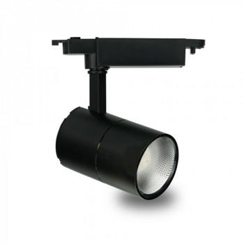 Світильник світлодіодний трековий Feron AL103 COB 30W 2700Lm 2700K IP40 чорний