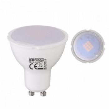 Лампа світлодіодна Horoz Plus-8 MR16 8W 4200K 220V GU10, 001-002-0008