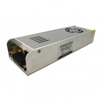 Блок живлення Biom STR-360-12, 12V, 30A вузький
