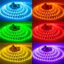 Стрічка світлодіодна SMD 5050, 60d/m, 14.4W/m, 720lm/m, IP65, RGBF (5050RGBF60), St. 1015430