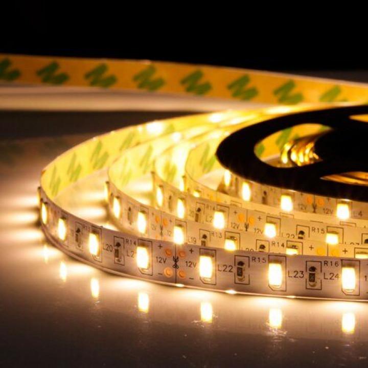 Стрічка світлодіодна SMD 5050, 60d/m, 14.4W/m, 720lm/m, IP20, тепла біла (5050WW60) 1015439
