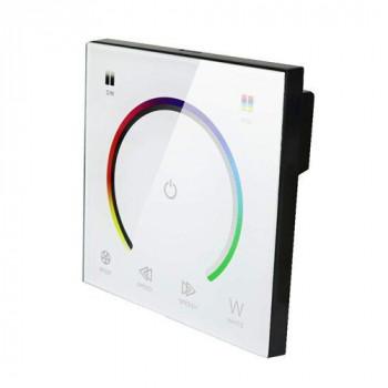 Контролер Biom RGB 12А-Touch, 12V, 4A/канал, сенсорна панель, білий
