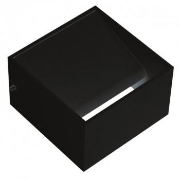 Світильник настінний Horoz TRUVA, 8W чорний., КВАДРАТ, 4200K, 029-007-0008-020