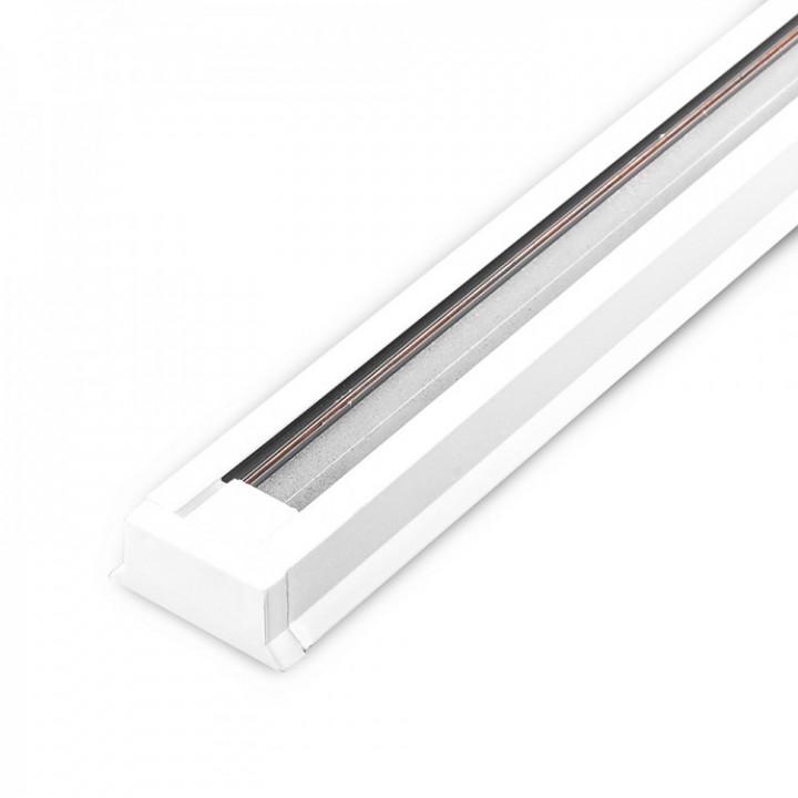 Рейка трапеція для трекових світильників Feron CAB1000 2м, білий,  10318
