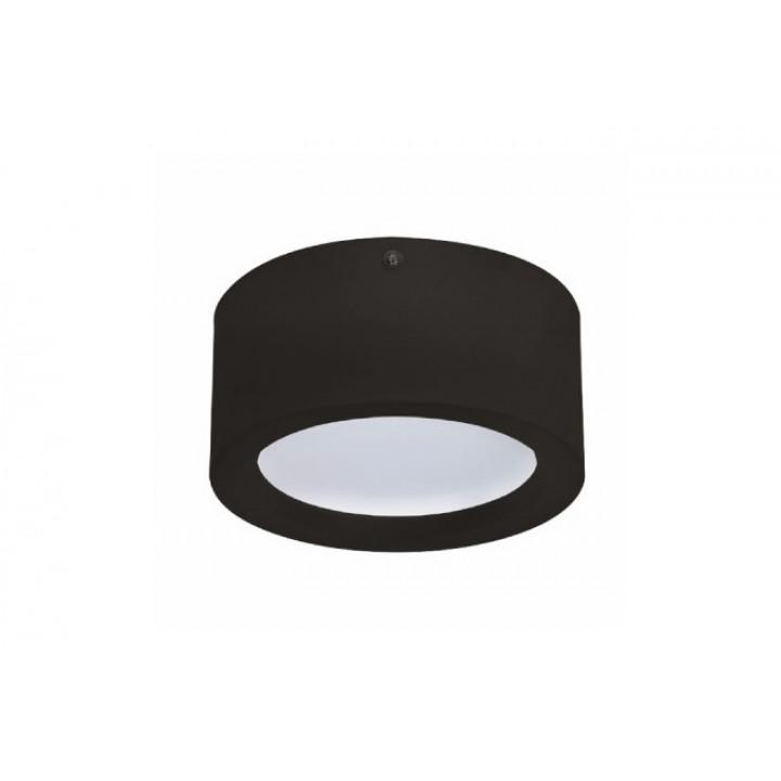 Світильний світлодіодний накладний Horoz Sandra-15 15W 4200K чорн. 1050Lm