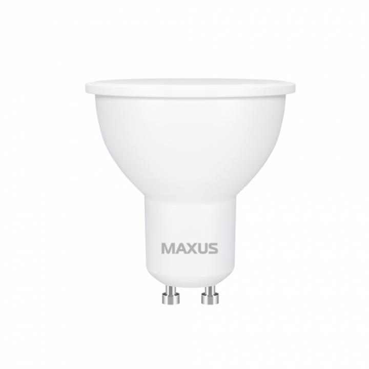 Лампа Maxus MR16 7W 3000K 220V GU10 1-LED-721