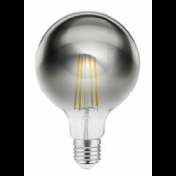 Лампа світлодіодна GTV FILAMENT G95, 8W, 540Lm, E27, AC220-240V, 2700K