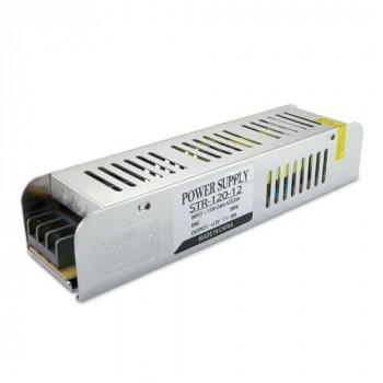 Блок живлення Biom STR-120-12, 12V, 10A вузький