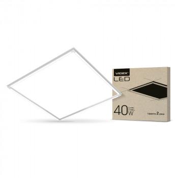 Світильник світлодіодний Videx Art 587x587 40W 4100K, VL-PA404W  293844