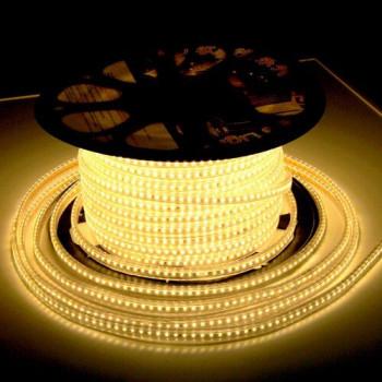 Стрічка світлодіодна JL 3014-120 WW 220V IP68