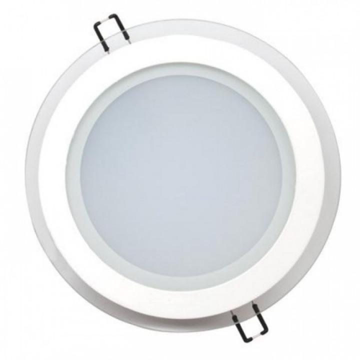 Світильник врізний Horoz Clara-15 HL689LG 15W біл.4200К d-200мм 1150Lm
