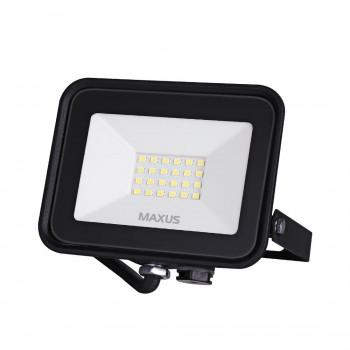 1-MFL-04-2050, Прожектор MAXUS FL-04, 20W, 5000K Black