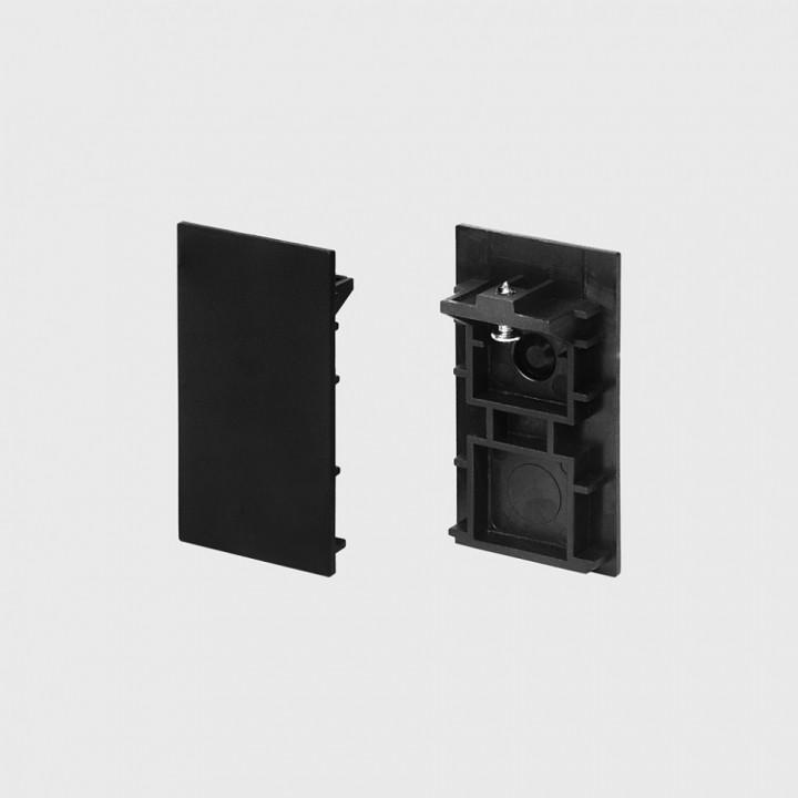 LTX 06.R/SECAP.BK Заглушка IN_LINE END CAP R/S, чорний