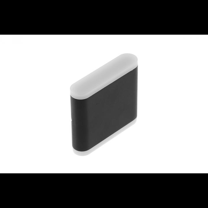 Світильник GTV настін. двонапр. VALLA, 8W, IP54, 4000K LD-VALLA8W-40