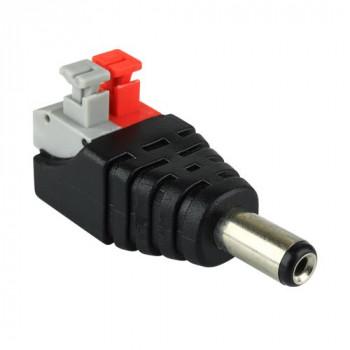 Конектор для дротів BIOM OEM SC-24-MC-2, 3,5мм - папа з зажимами