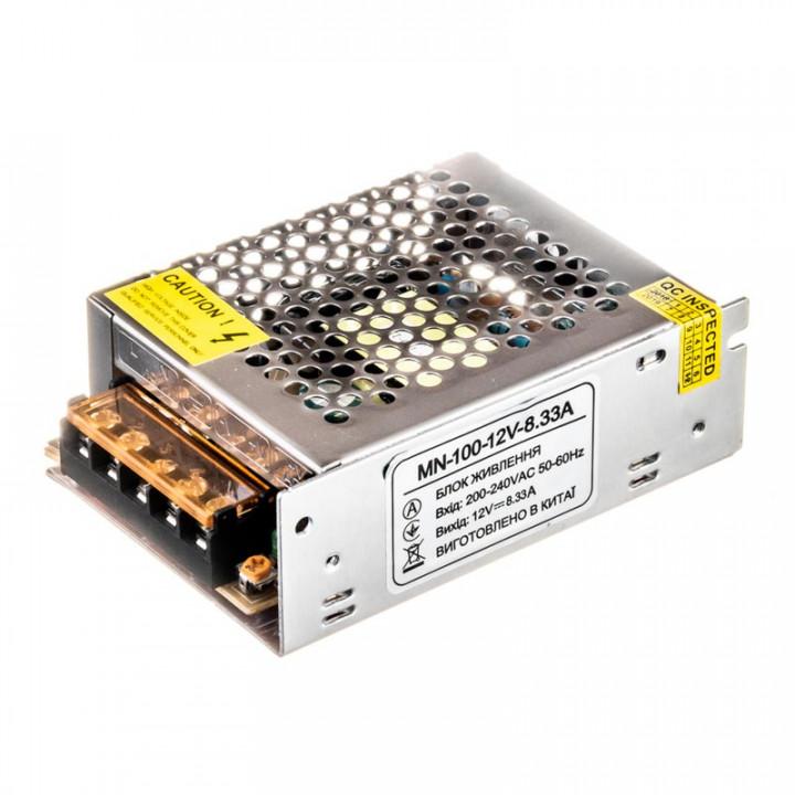 Блок живлення MN-100-12, 12V, 8.3A, 1013435