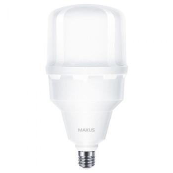 1-MHW-7505, Лампа світл. Maxus HW 50W 5000K, E27/E40