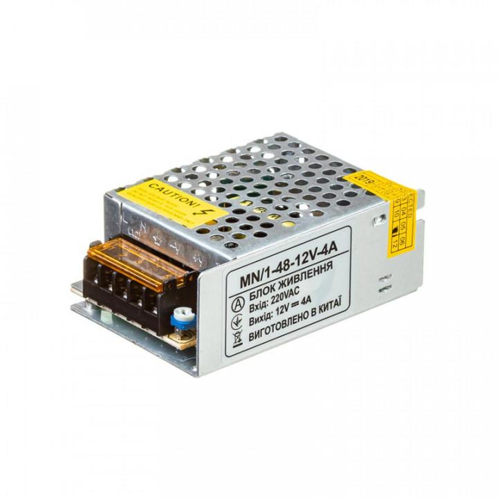 Блок живлення MN-48/1 -12, 12V, 4A  1018987