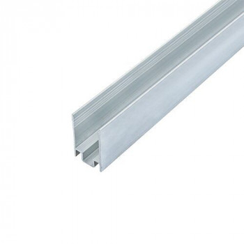 Профіль алюмінієвий BIOM ЛПН-16 для кріплення  стрічки NEON 8*16, 2м. неанод.