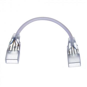 Конектор двосторонній для LED Стрічки 5mm+провід 2pin. 220V 1018981