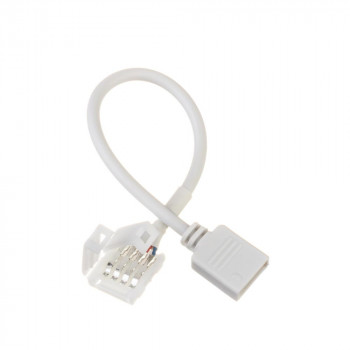 Конектор RGB стрічка-контролер, male + провід 15см, 1012311